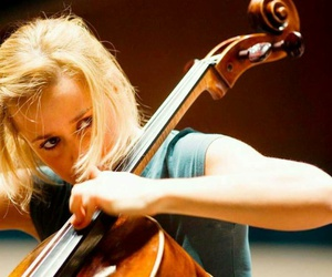 blonde, cello, and classical image