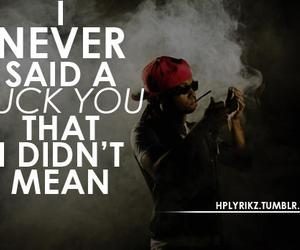 fuck you, quotes, and lil wayne image