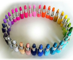 colorful, lipstick, and style image