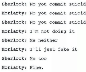 sherlock, the fall, and moriarty image