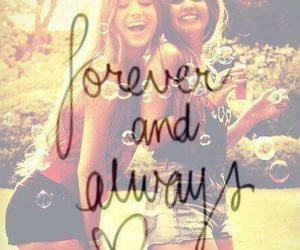 friends, forever, and always image