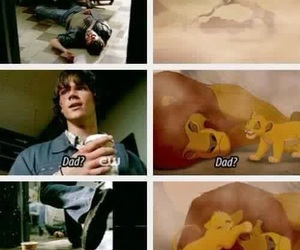 supernatural, sam winchester, and disney image