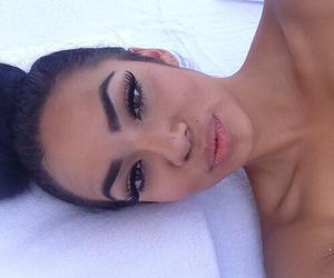 eyebrows, lips, and eyelashes image