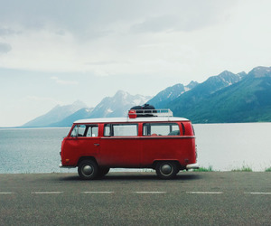 travel, red, and adventure image