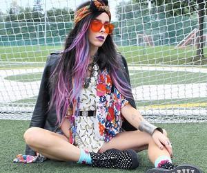 alt girl, alternative, and dyed hair image