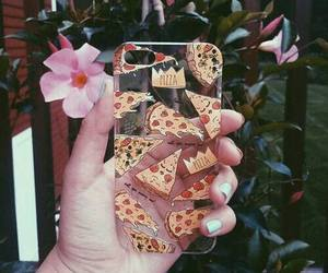 pizza, case, and iphone image