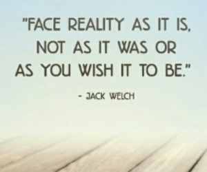 quote and reality image