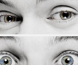 eyes, one direction, and louis tomlinson image