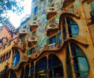 Antoni Gaudi, Barcelona, and beautiful image