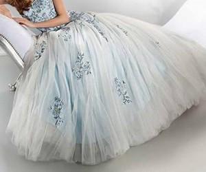 beautiful, dress, and frock image