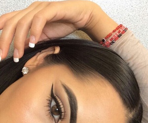 dope, eyebrows, and fashion image