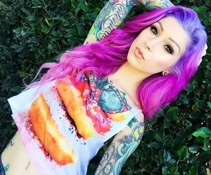 pink hair, alt girl, and alternative image
