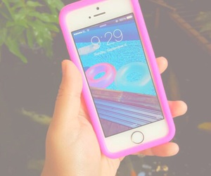 apple, pink, and pastel image