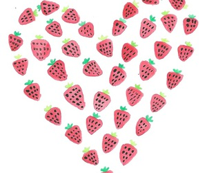 strawberry and heart image