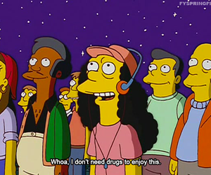 funny, simpsons, and stars image