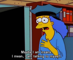 marge, simpsons, and quote image