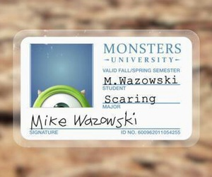 disney, picture, and mike wazowski image