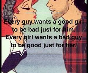 love, bad, and quotes image