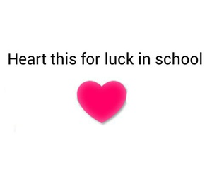 heart, luck, and school image