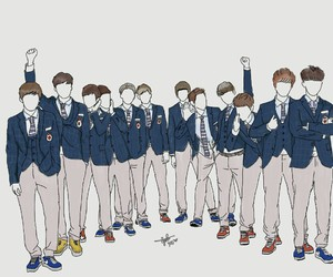 exo, exok, and fanart image