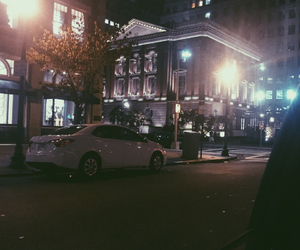 boston, city, and dark image