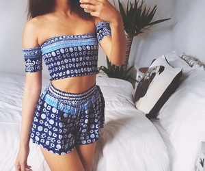 bohemian, girl, and outfit image