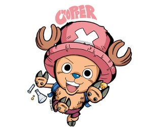 anime, reindeer, and chopper image