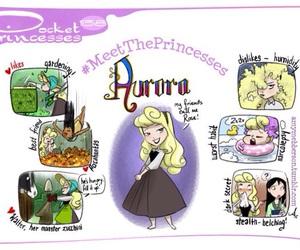 aurora, pocket princesses, and disney image