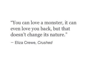 monster, personality, and quote image