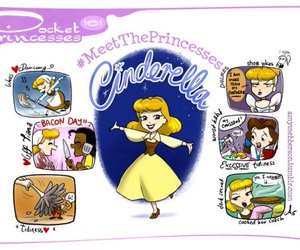 cinderella, pocket princesses, and disney image