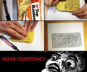 asian, conspiracy, and Chicken image