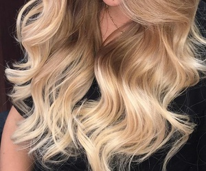 blonde, style, and ombre image
