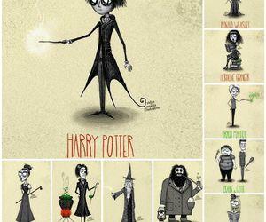 harry potter, ron weasley, and tim burton image
