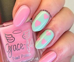fashion, nails, and sweet image