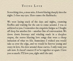 poem and young love image