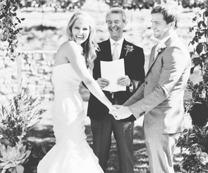 bride, ceremony, and couple image