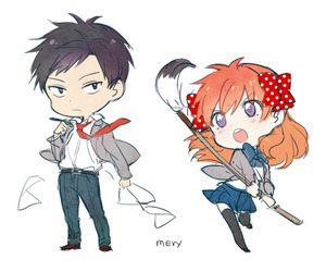 anime, chibi, and gekkan shoujo nozaki-kun image