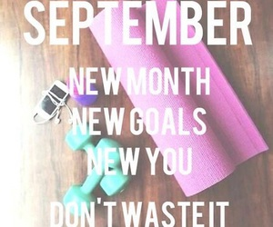 workout, September, and healthy image