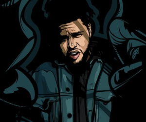 the weeknd and art image