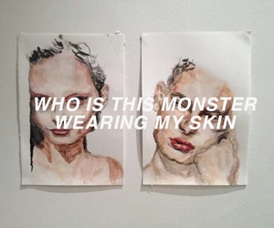 monster, art, and quotes image