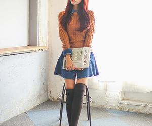 clothes, kfashion, and style image