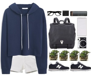 blue, casual, and clothes image