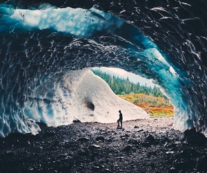 beautiful, cave, and nature image