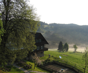 austria, cottage, and country side image