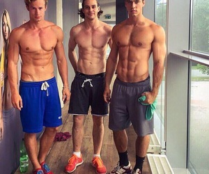 boys, fitness, and Hot image
