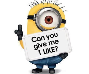 minions, like, and funny image
