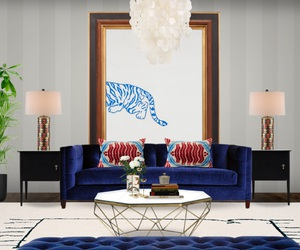 interior desing and living room image