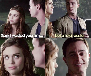 teen wolf, lydia martin, and deputy parrish image