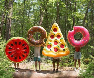 donut, food, and funny image