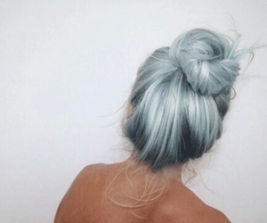 blue, grunge, and abnormal hair image